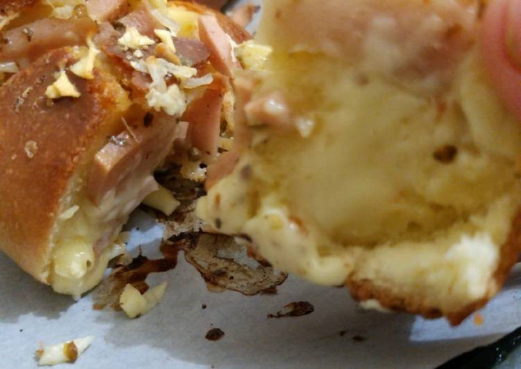 Resep mengolah Korean garlic cheese bread (anti gagal)