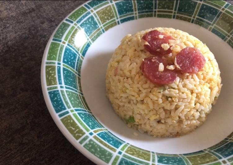 Cara Mudah membuat Nasi Goreng Korea ala Our Channel