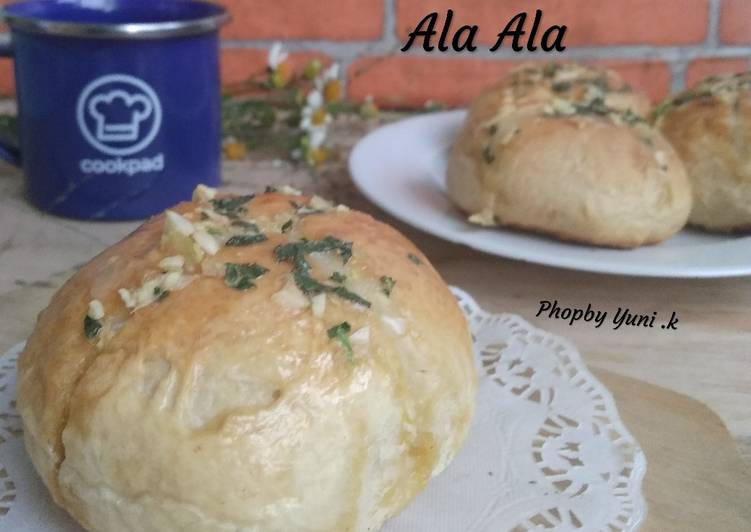 Resep: Korean Bread Garlic ala ala istimewa