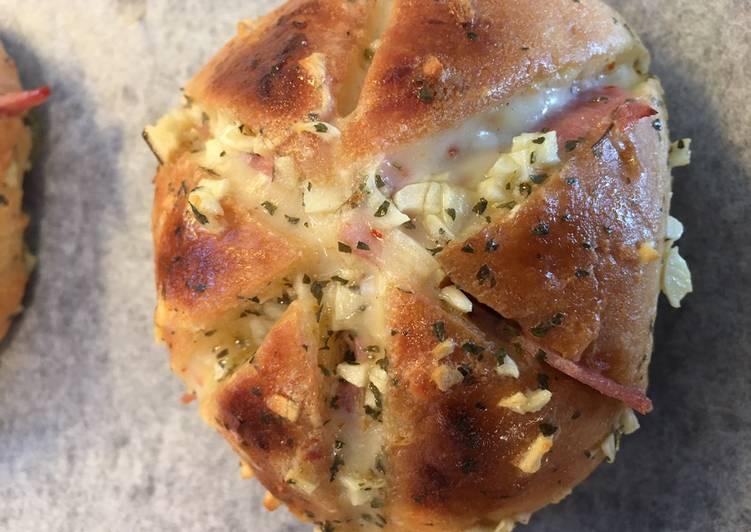 Cara Mudah membuat Korean Garlic Bread (tanpa cream cheese)