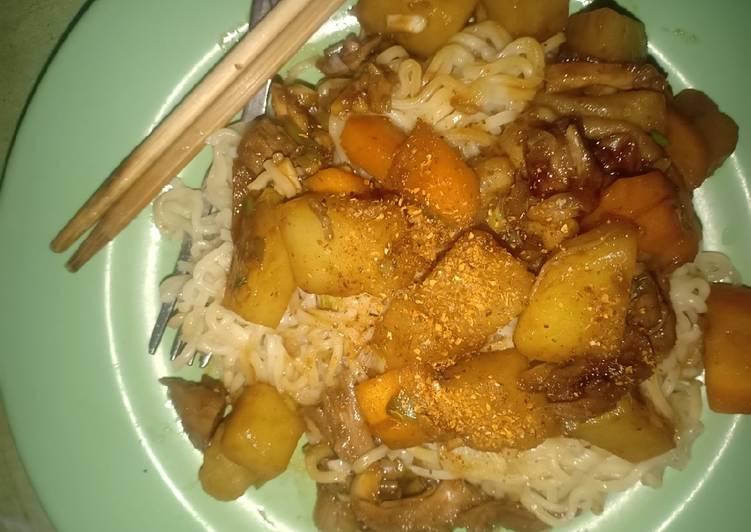 Resep: Mie ayam Jjajangmyeon lezat