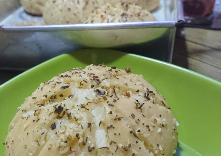 Resep memasak Korean Garlic Cheese Bread super ekonomis lezat