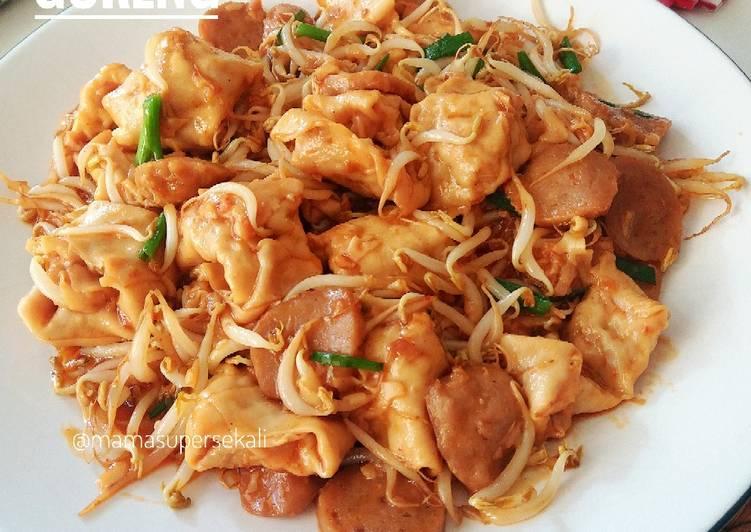 Cara memasak Pangsit goreng viral