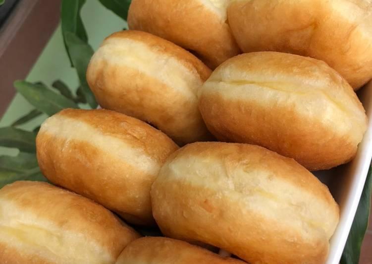 Cara Mudah membuat Donat kentang gendut