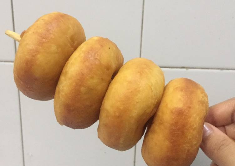 Resep memasak Donat kentang montok tanpa mixer