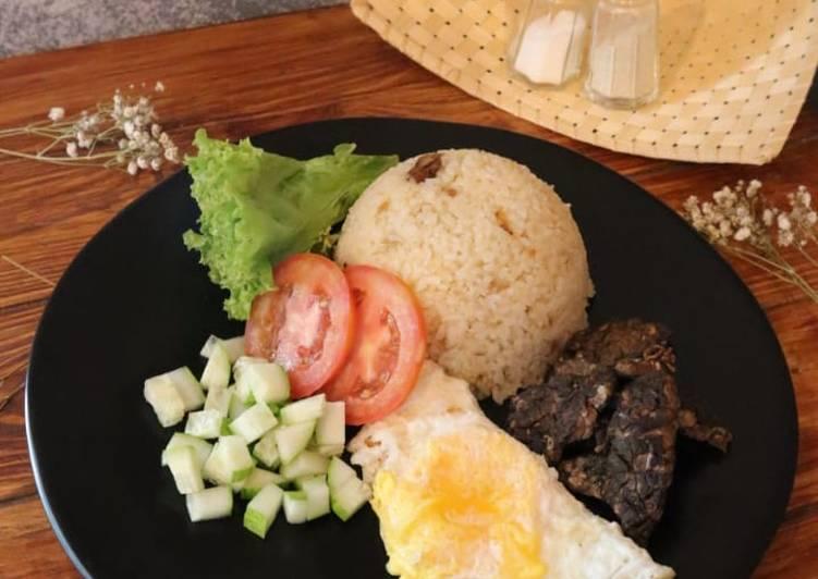 Resep membuat Butter Rice Onion | ala almarhum Ibuku 💝 istimewa