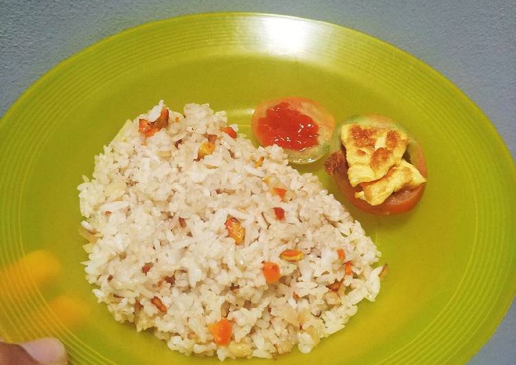 Resep: Easy garlic butter rice with lime istimewa