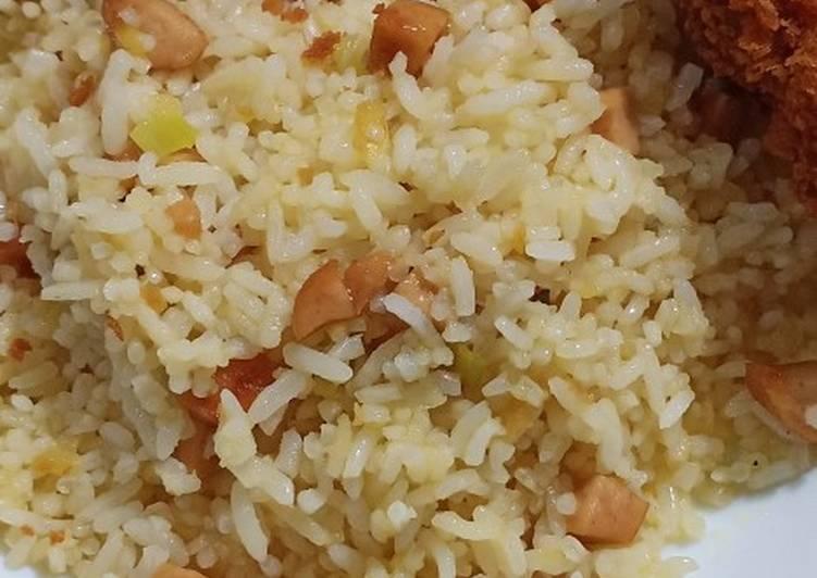 Resep: Butter rice