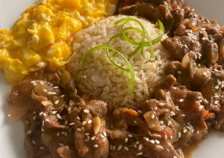 Cara mengolah Hayashi brown rice