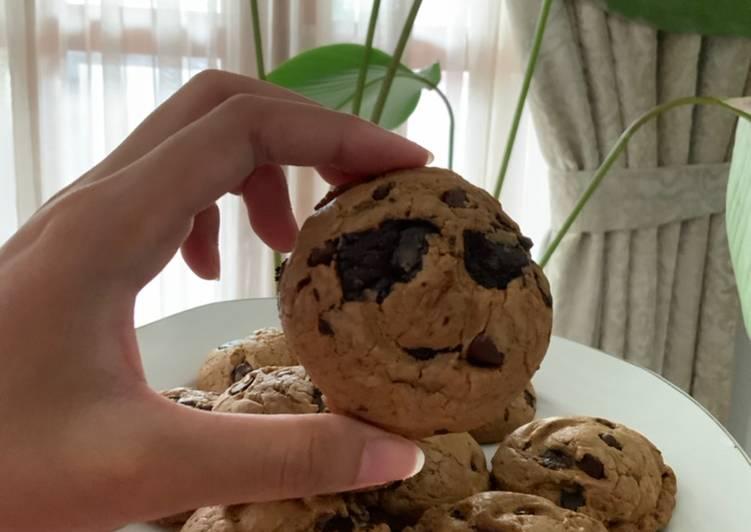Resep memasak Soft baked cookies