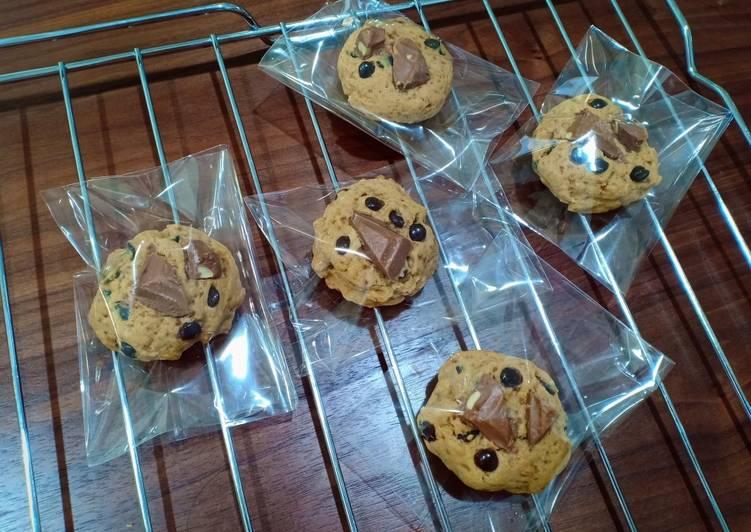 Cara membuat Soft baked cookies super recomended😘 lezat