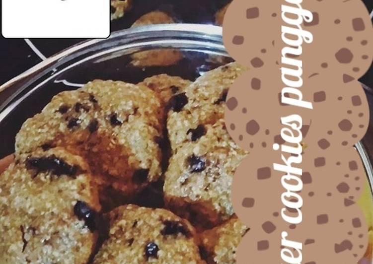 Resep: Quaker cookies panggang