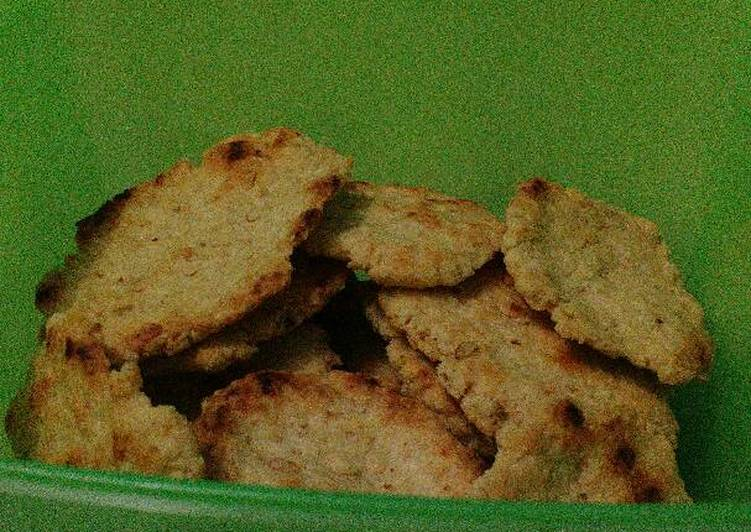 Cara membuat Cookies oatmeal panggang lezat