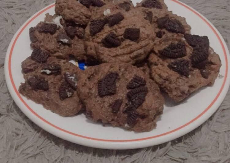 Cara Mudah mengolah Oreo Cookies simple (no mixer, bisa dipanggang di oven atau teflon)