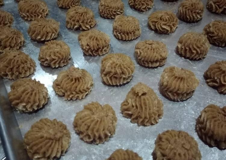 Cara Mudah mengolah Sagu palem cookies oven tangkring