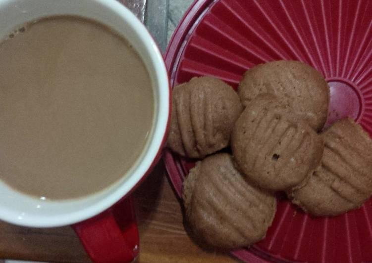 Resep: COOKIES coklat UMUM (oven) lezat