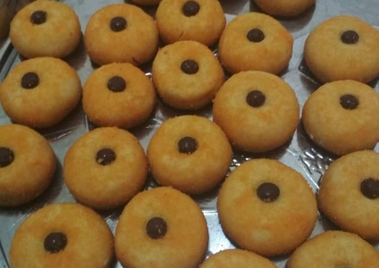 Cara Mudah membuat Kue monde cookies oven wajan lezat