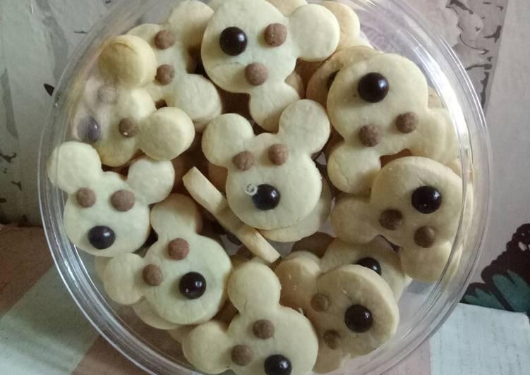 Resep membuat Maizena milk cookies | oven kompor istimewa