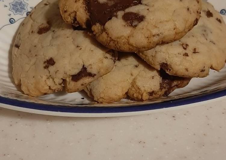 Resep: Chewy Chocolate Cookies, no mixer, lembut dan lumerrr