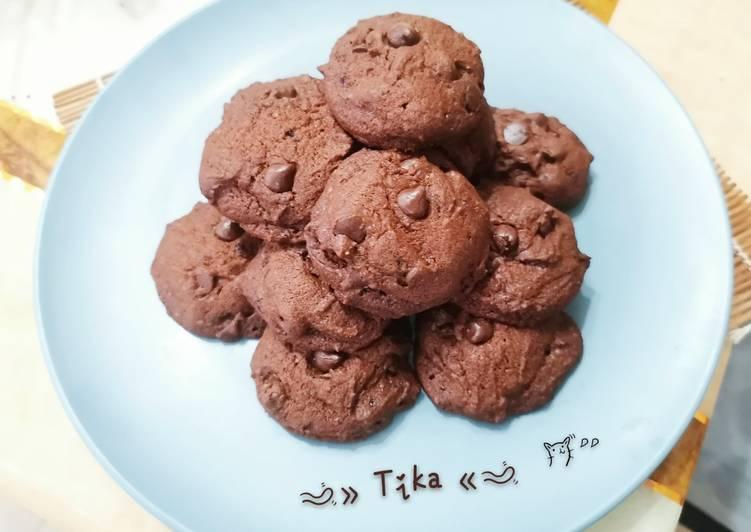 Resep: 64. Soft Choco Cookies (recook dari Bawell) istimewa