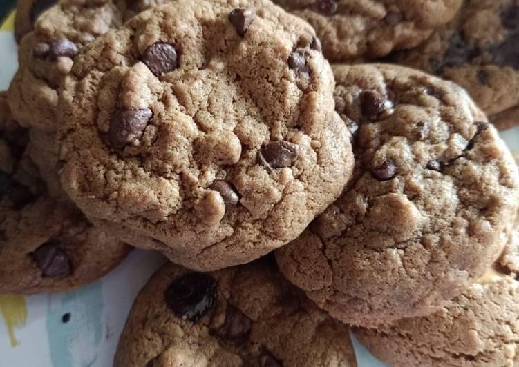 Cara membuat Cookies soft chewy