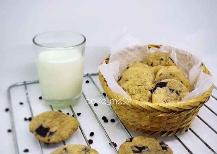 Cara memasak Cookies chewy lembut tanpa mixer
