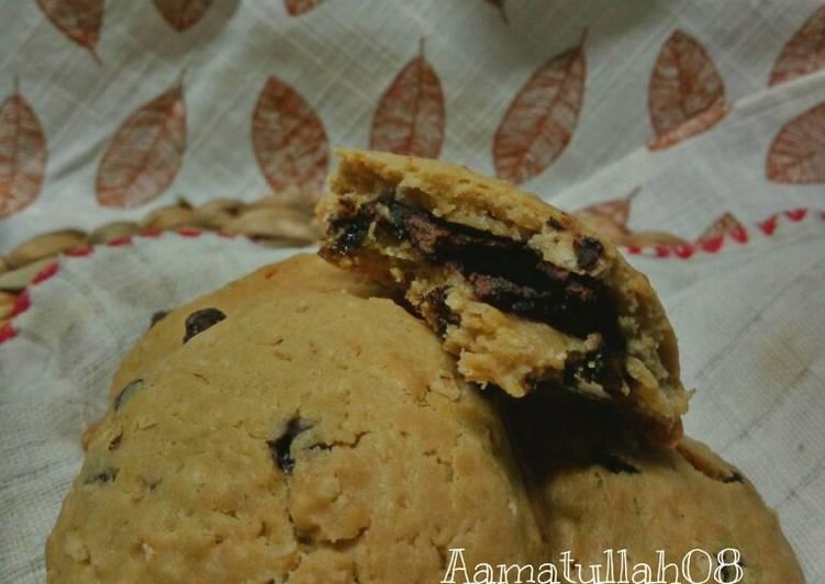 Cara mengolah Choco oat soft cookies