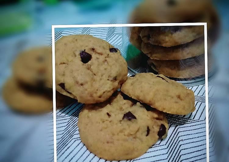 Resep memasak Chocochips soft cookies