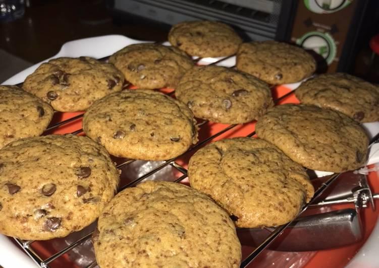 Resep: Chocochip soft cookies enak