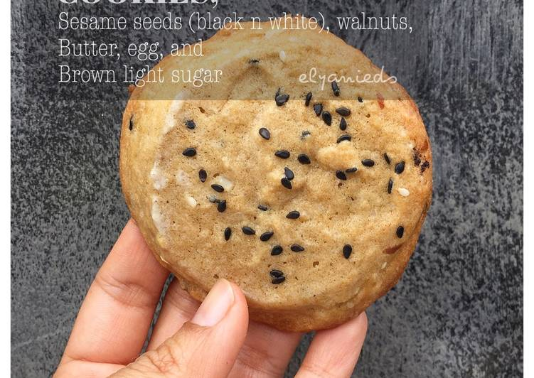 Resep: Soft Cookies (wijen dan kenari)