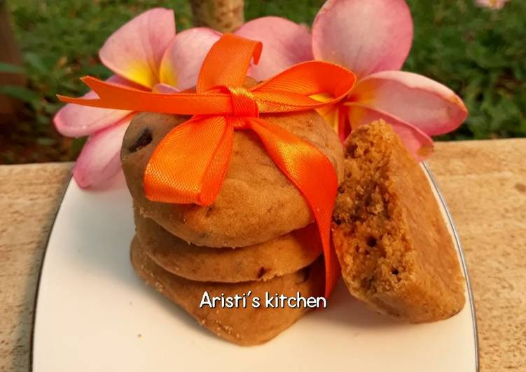 Resep: Chewy & soft chocochips cookies