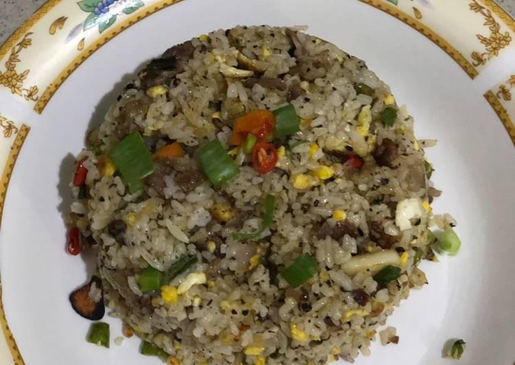 Resep membuat Nasi goreng tiarbah ala2 mamayaa