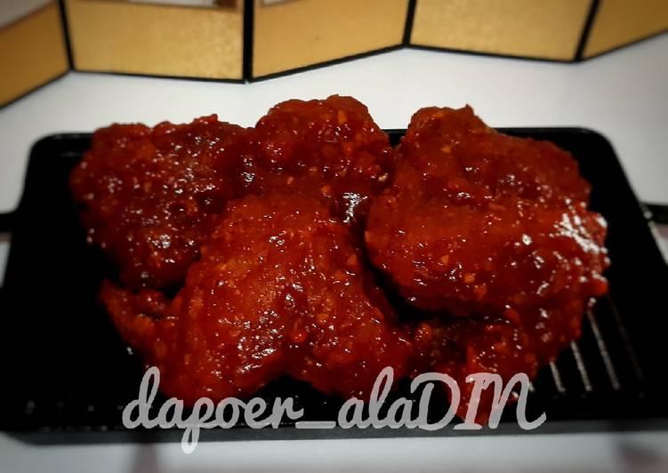 Resep: YangNyeom ayam goreng korea rasa nano-nano