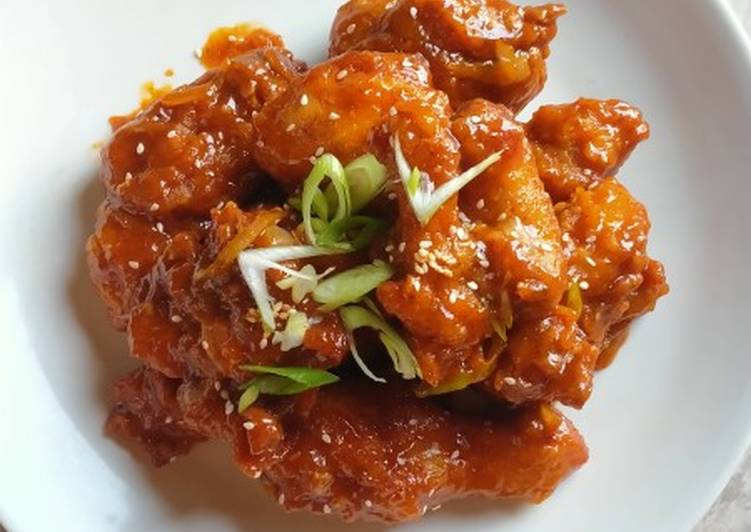 Resep: Yangnyeom Tongdak (olahan ayam ala Korea)