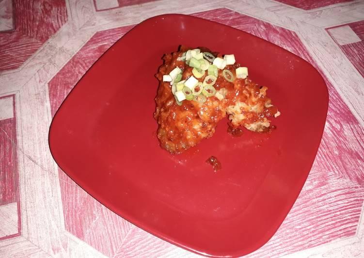 Resep: Yangnyeom Tongdak (spicy chicken korea)