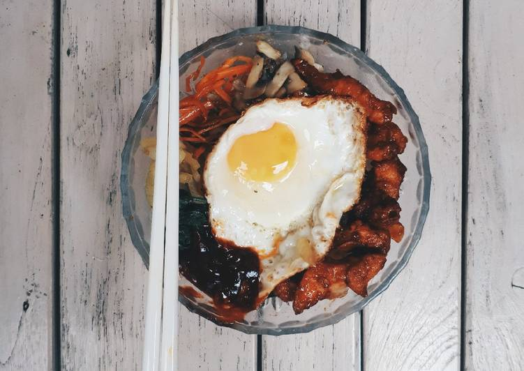 Resep: Bibimbap & Ayam Korea (Yangyeom Chikin)