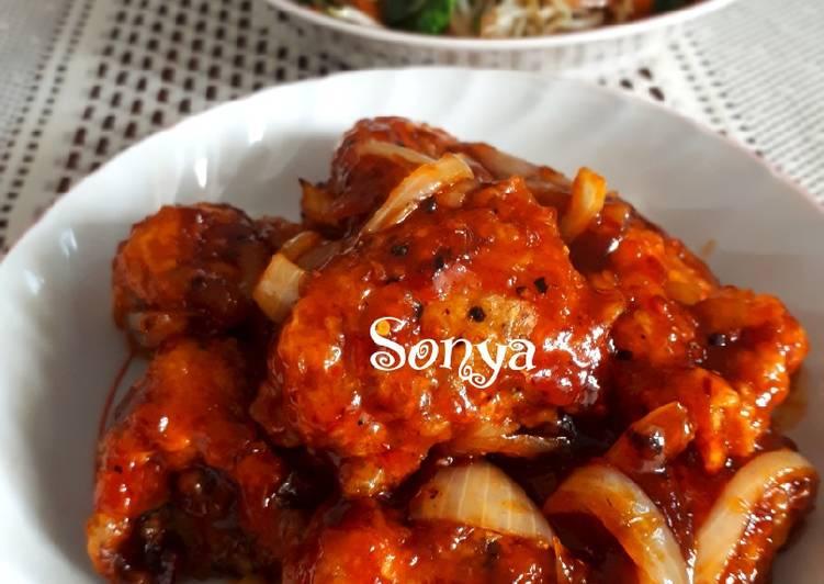 Resep: Yangnyeom Tongdak | Ayam pedas manis korea istimewa