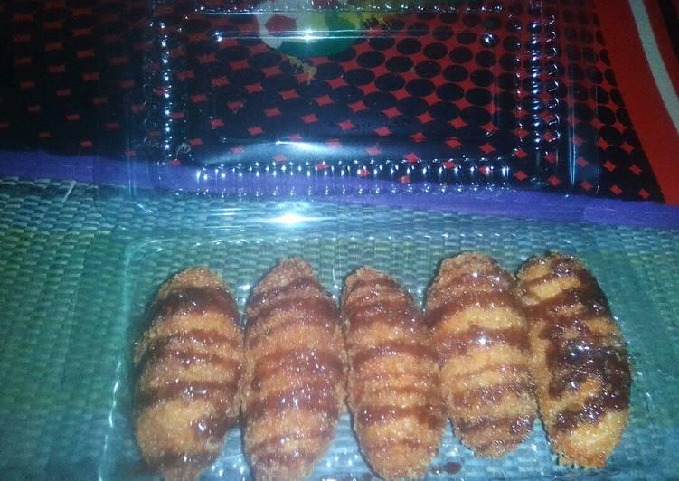Resep: Nugget Pisang Coklat Yummy ala Anak Mojokerto lezat