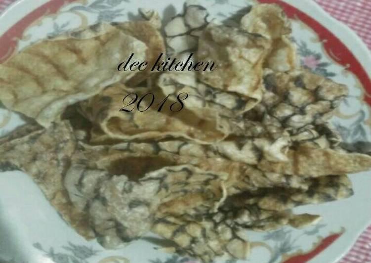Resep: Kerupuk kulit ikan lezat