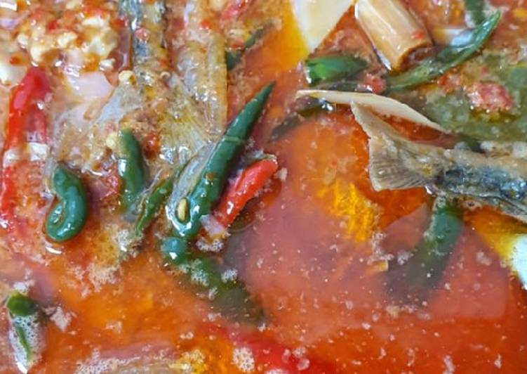 Cara Mudah membuat Tauco santan Ikan gembung, jangek dan petai