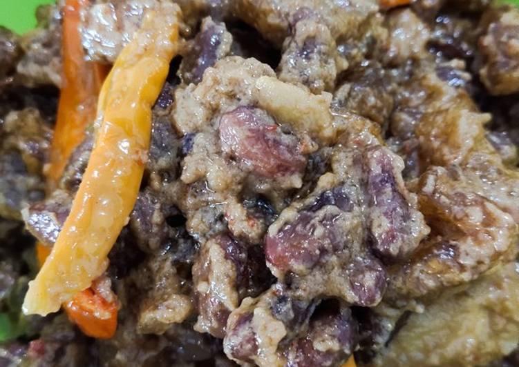 Resep membuat Sambel krecek kacang merah istimewa