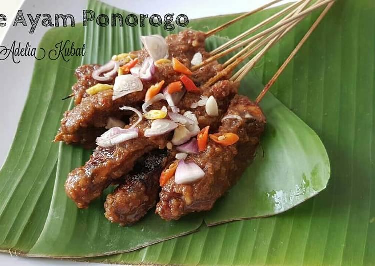 Resep mengolah Sate Ayam Ponorogo