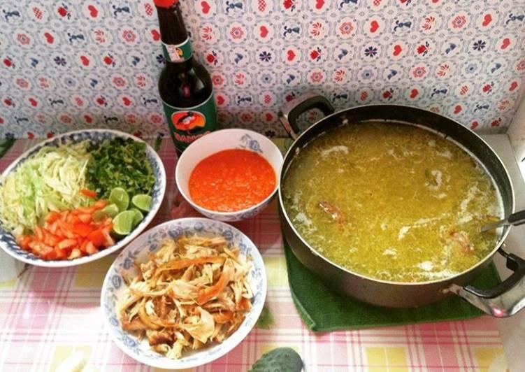 Resep: Soto bening ponorogo lezat