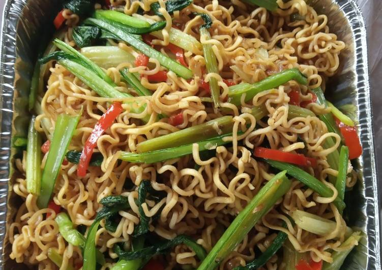 Resep: Mie goreng simple ponorogo