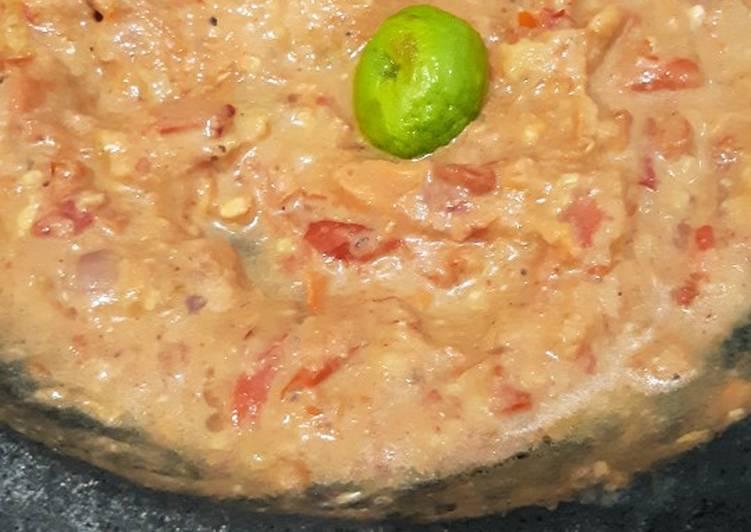 Sambel tomat pecel lele lamongan