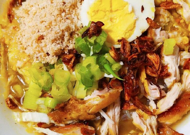 Resep membuat Soto ayam Lamongan istimewa