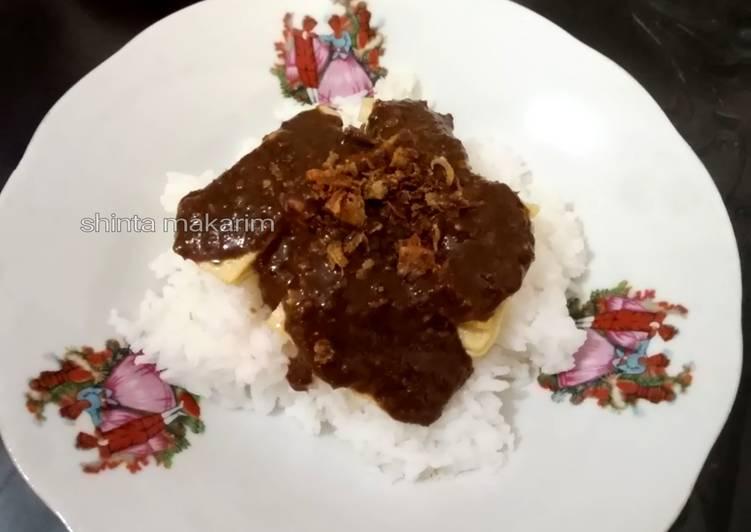 Resep: Tahu Bumbu khas Jombang Jatim lezat