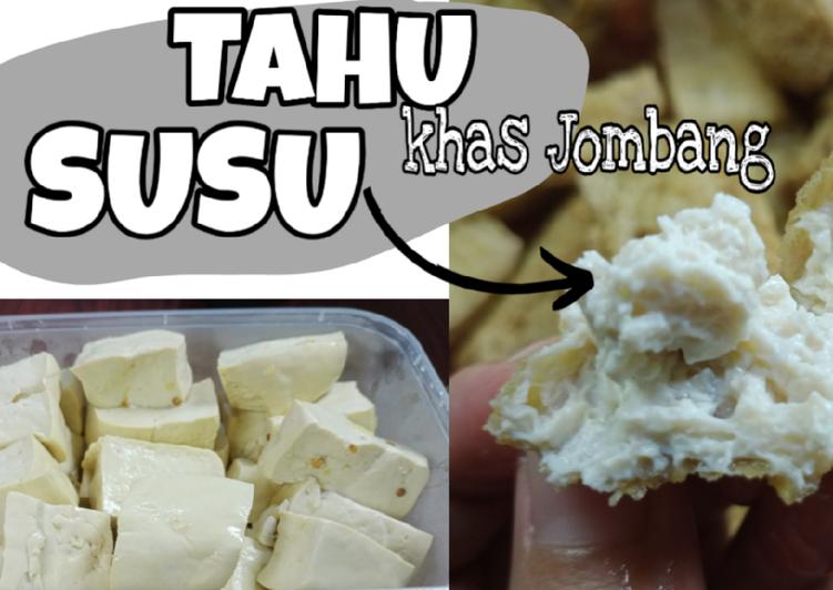 Resep: Tahu Susu khas Jombang