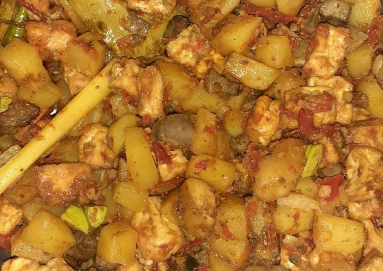 Resep: Sambal goreng kentang ati ampela