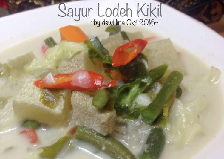 Resep membuat Sayur Lodeh Kikil istimewa